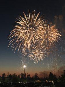 Fireworks at Muckleshoot Casino