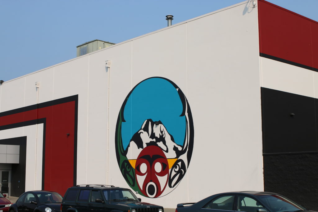 Tribal Art of Muckleshoot Casino in Auburn, Washington