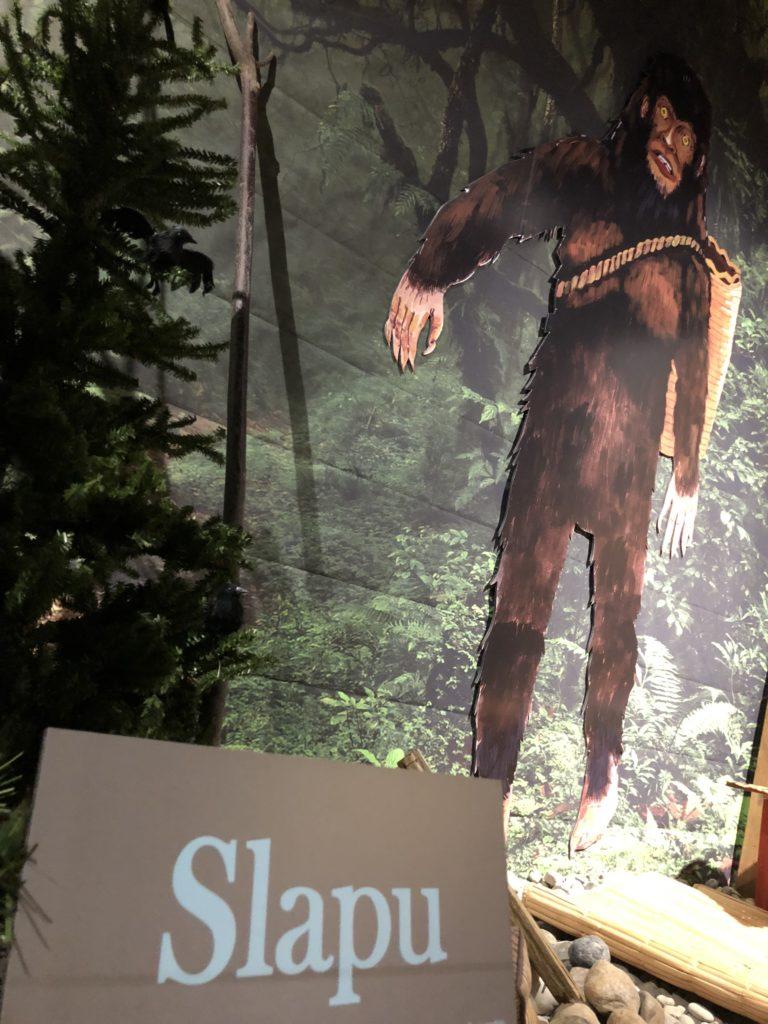 Slapu at White River Valley Museum in Auburn, WA