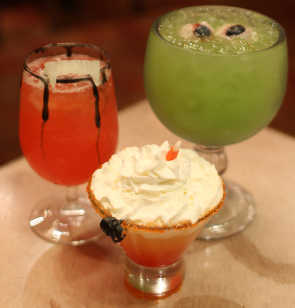 All Hallow's Eve cocktails at Coyaba Grill