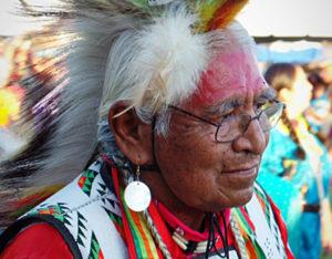 Muckleshoot Veteran's Powwow 2018 in Auburn, Washington. Photo by John Montgomery-Patterson.