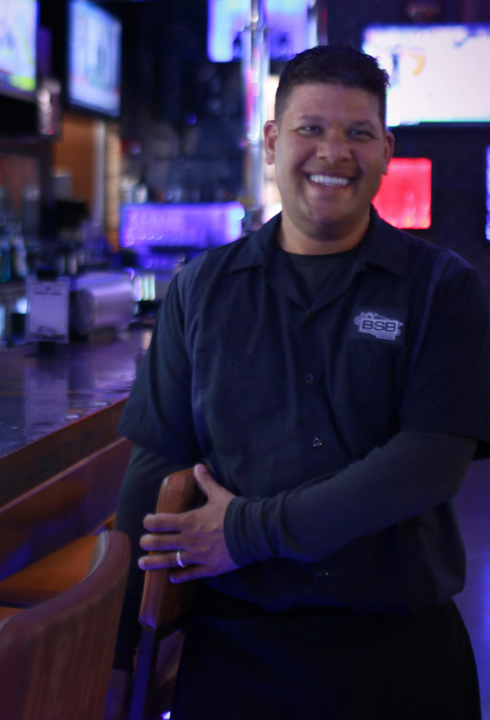 Jason Parks-Quintana working at BSB & Raw Bar