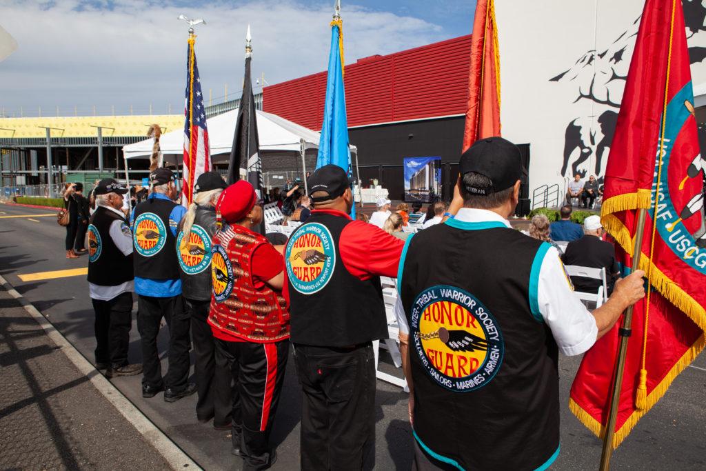 Inter-Tribal Warrior Society Honor Guard