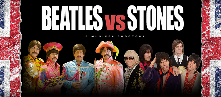 STONES VS BEATLES