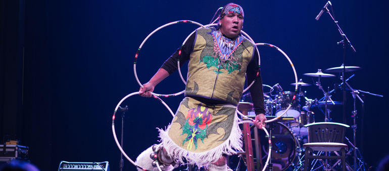 Native Hoop Dancers at Muckleshoot Casino
