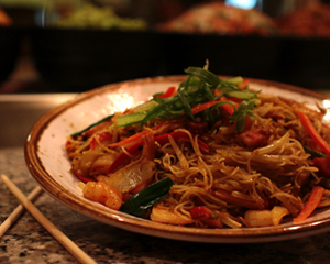 Singapore Noodles at Muckleshoot Casino