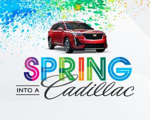 Spring Into a Cadillac