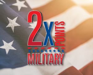2x Military Points at Muckleshoot Casino