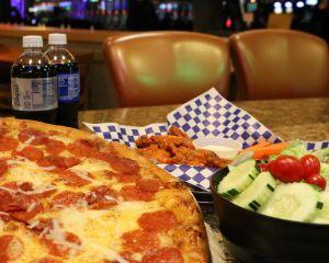 Pizza at Muckleshoot Casino