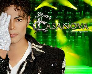 E'Casanova as Michael Jackson at Muckleshoot Casino