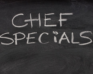 Chef Specials at Muckleshoot Casino