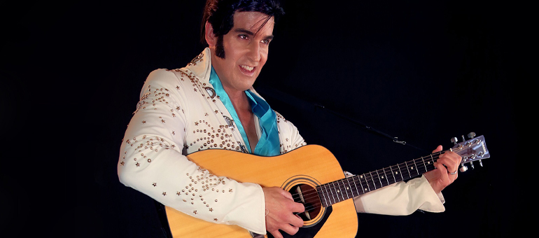 Rob Ely as Elvis at Muckleshoot Casino