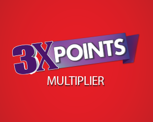 3x points at Muckleshoot Casino