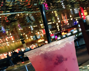 Blueberry lemonade at Muckleshoot Casino