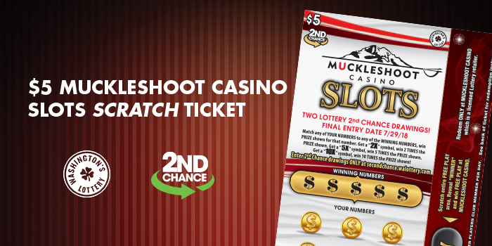 $5 Muckleshoot Casino Slots Scratch Ticket