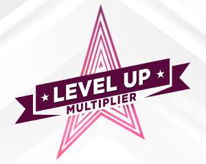 Level Up Multiplier