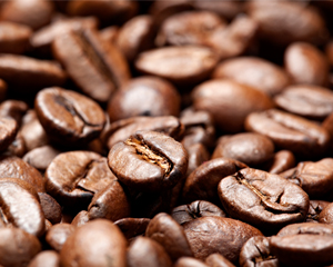 Coffee beans at Muckleshoot Casino