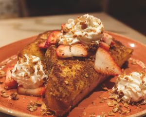 Graham Cracker Crusted French Toast at Muckleshoot Casino