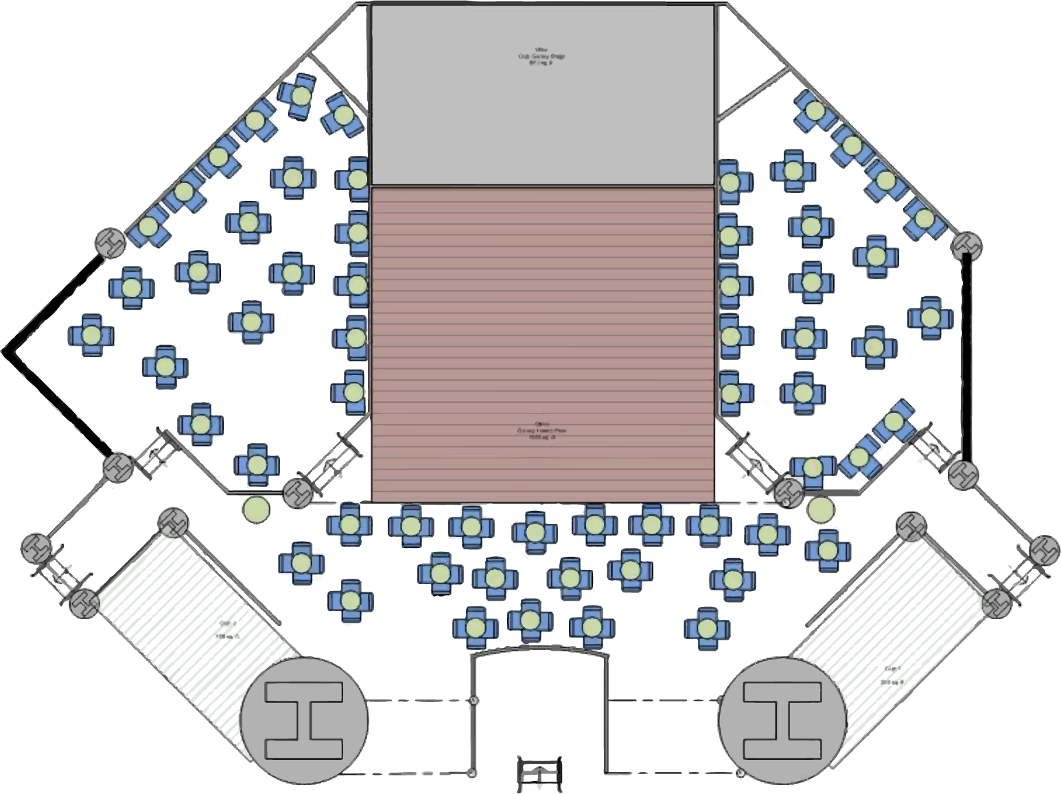 Club Casino Seating Chart