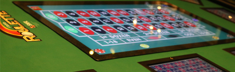 i-Table Electronic Roulette Only at Muckleshoot Casino